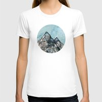 mountain T-shirts featuring Mountain by madbiffymorghulis
