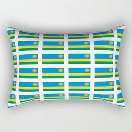 Flag of rwanda -rwanda,Rwandan,rwandais,ruanda,Gasabo,kigali. Rectangular Pillow
