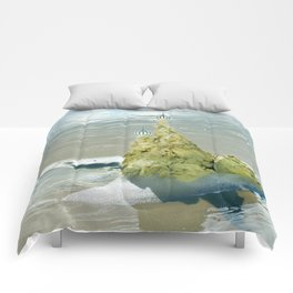castles in the sand Comforters