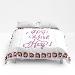 Hey Girl Hey Comforters