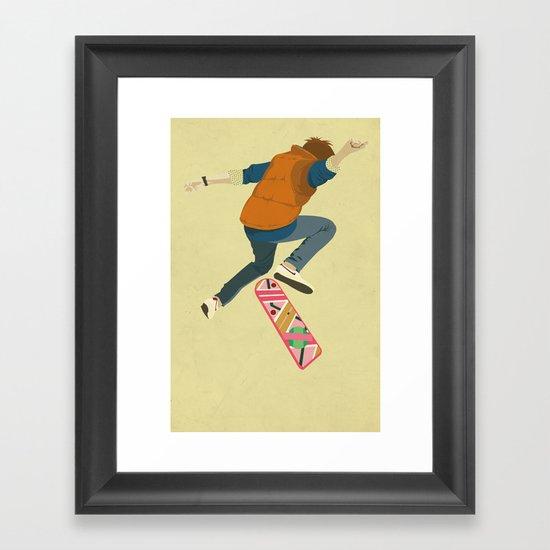 McFly Framed Art Print