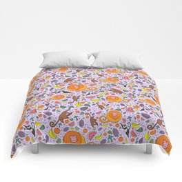 Cute Tropical Pattern Comforters