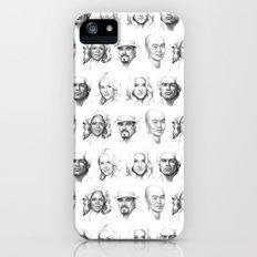 Dexter Portrait Pattern Slim Case iPhone (5, 5s)