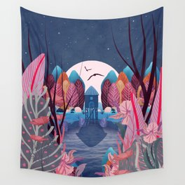 Mystery Garden Wall Tapestry