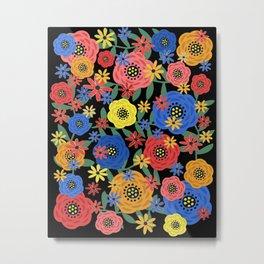Fantasy Floral Design #31118 Metal Print