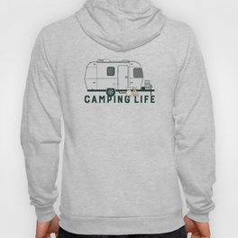 Happy camping life with cute Frenchies Hoody