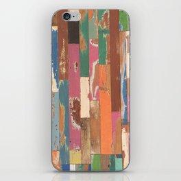 Maui Hawaii colorful fence art iPhone Skin