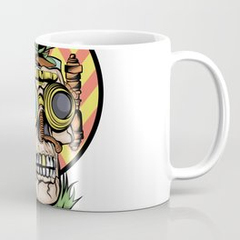 Steampunk Plague Medieval Doctor Gardening Coffee Mug