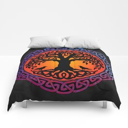 Viking Yggdrasil World Tree Comforters