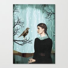 the mechanical bird Canvas Print