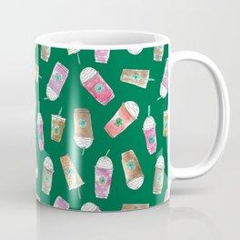Coffee Crazy Toss in Green Coffee Mug