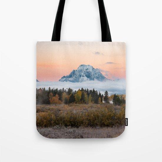 Autumn Sunrise in the Tetons Tote Bag
