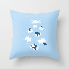 Puzzle Ice  Throw Pillow