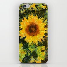 you can't have enought sunflowers iPhone & iPod Skin