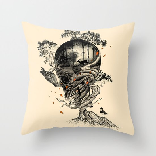 Lost Translation Throw Pillow