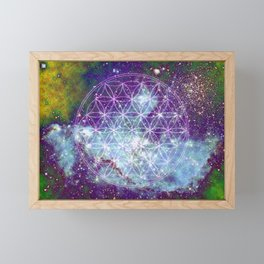 Flower of Life Framed Mini Art Print