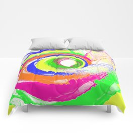 Whirlpool of Colour Comforters