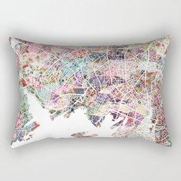 Oslo map Rectangular Pillow