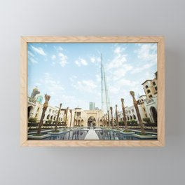 Dubai Framed Mini Art Print