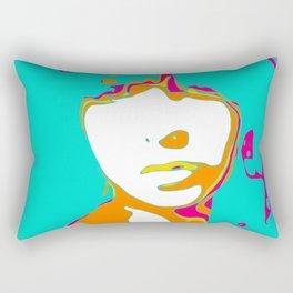 Self Portrait Rectangular Pillow