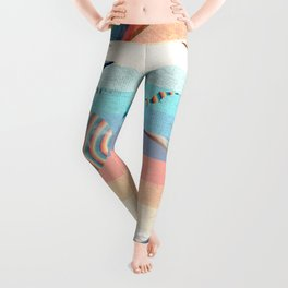 Retro Dino Time Leggings