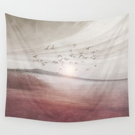 Positive sunset II Wall Tapestry