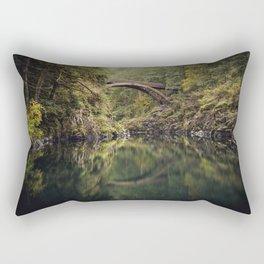 Moulton Falls Bridge Rectangular Pillow