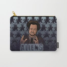 Aliens Guy (Giorgio Tsoukalos) Color Carry-All Pouch