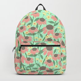 Echinacea and Coreopsis Backpack