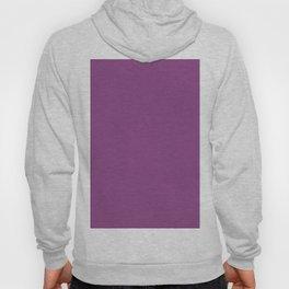 Plum Purple Solid Color Hoody