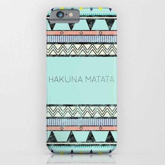 Hakuna Matata iPhone & iPod Case