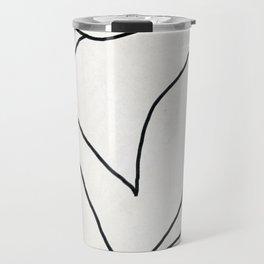 Abstract line art 2 Travel Mug