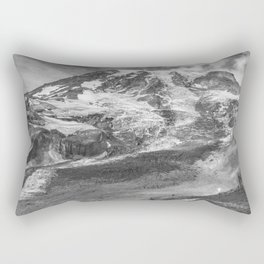 Glaciated Mount Rainier Rectangular Pillow