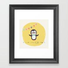 Pete Penguin Framed Art Print