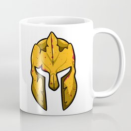Spartan Helmet - Warrior Guard Coffee Mug