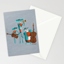 Mariachi Muerto Stationery Cards