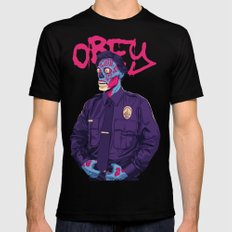 OBEY Black MEDIUM Mens Fitted Tee