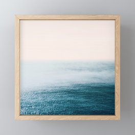 Ocean Fog Framed Mini Art Print