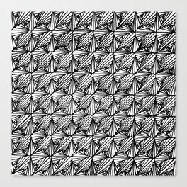 Zentangle Paradox Canvas Print
