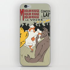 Moolin Rouge - This Cow Can Can Can iPhone & iPod Skin
