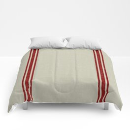 Vintage French Country Grainsack Berry Linen Comforters