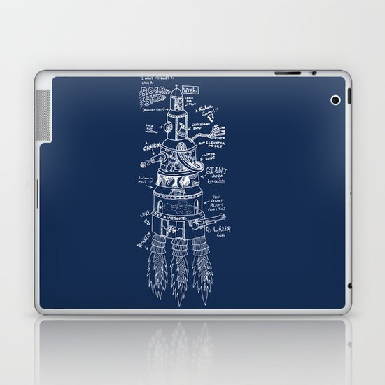 U.S.S. Awesome Laptop & iPad Skin