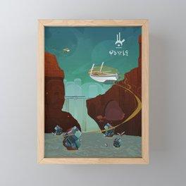World of Tales Framed Mini Art Print