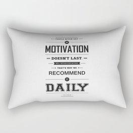 Lab No. 4 People Often Say Zig Ziglar Motivational Quote Wall Decor Rectangular Pillow