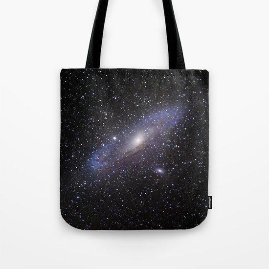 Galaxy Andromeda Tote Bag