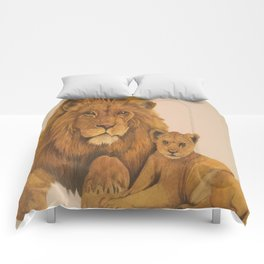 fathers love and pride Comforters