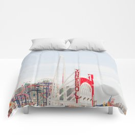 Coney Island Amusement Comforters