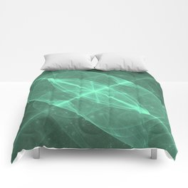 Green Galaxy of Sir Douglas Fresh [Torus of Love Version] Comforters