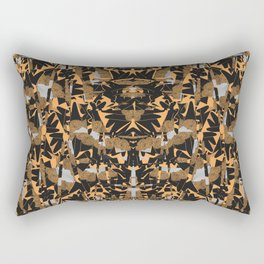 Night Rockets Blitz Rectangular Pillow