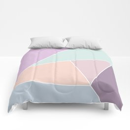 Graphic Pastels Comforters
